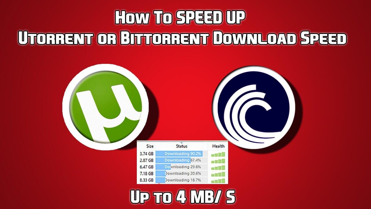 BitTorrent vs μTorrent speed and performance