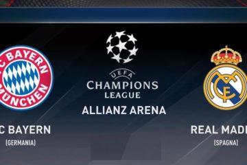 Watch UCL Semi Final Bayern Munich Vs Real Madrid Live Online