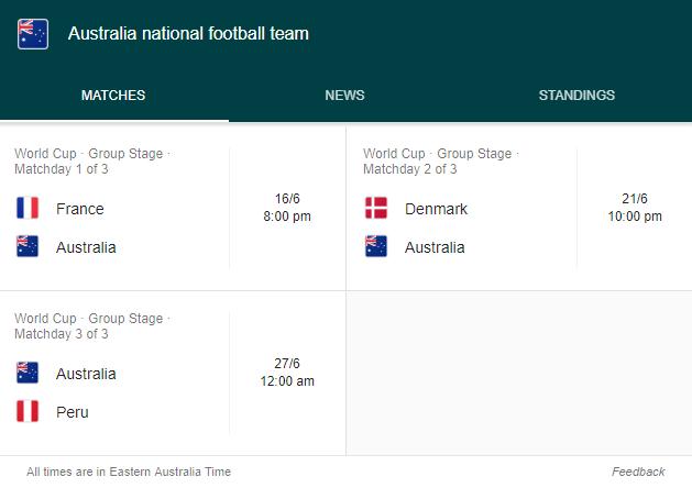 Australia in FIFA Worldcup