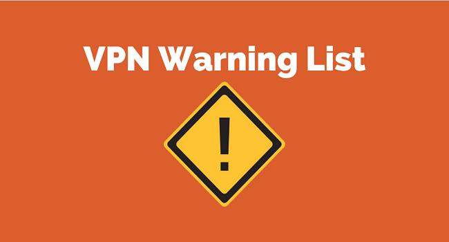 VPN providers who keep data