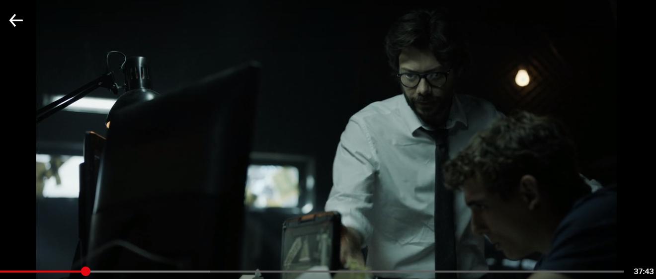 Money Heist - Netflix (VPN Scene)