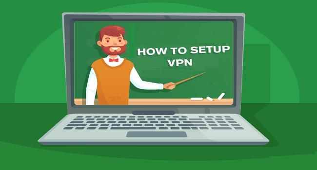vpn setup for beginners
